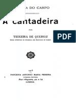 A cantadeira, por Teixeira de Queiroz