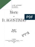 Morte de d. Agostinho, Teixeira de Queiroz