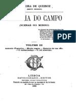 Comédia do campo, volume III, pot Teixeira de Queiroz (contos)
