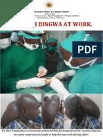 Daktari Bingwa at Work