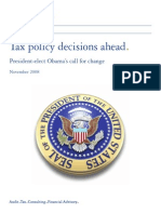 177534_Deloitte - Obama Tax Poilcy- Decisions Ahead