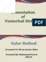 Basics of Euler Method