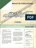 Manual de Usuario 3cv AK Mehari