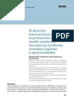 Derecho Internacional y La Proteccion Del Medio Ambiente Durante Los Conflictos Armados