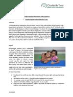 GVI Playa Del Carmen Monthly Achievements Report March 2014