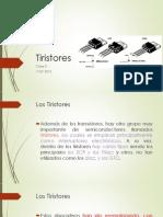 Clase 4 Tiristores