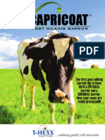 Capricoat Post Milking Barrier Brochure