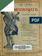 Le Livre de Musique