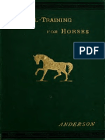 Anderson - School Training for Horses - 1882