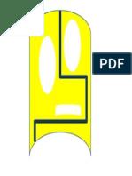 MÁSCARA ROBÓTICA amarela loca