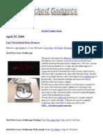 Top 5 Dead Hard Drive Projects - Hacked Gadgets – DIY Tech Blog
