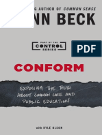 Author's Note from Conform by Glenn Beck