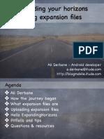 Presentation Droidconnl 2012 Expanding Your Horizons Using Expansion Files1