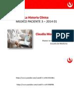 Historia Clínica 2014 1