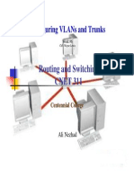 6, Ch3- VLAN and Trunk Configuration