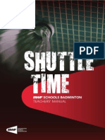 Badminton Teachers Manual