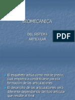 Biomecanica Sistema Articular