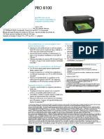 Officejet Pro 8100 Es