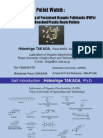 Hideshige Takada Global Monitoring of POPs on Pellets
