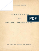 Itinerario Del Autor Dramatico
