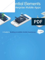 10 Essential Elements of Great Enterprise Mobile Apps