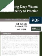 Bob Robotti - Navigating Deep Waters