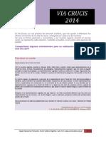 El via Crucis 2014 Orientacion y Guion