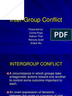 Intergroup Conflict