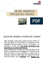1 - Valor Del Dinero a Traves Del Tiempo