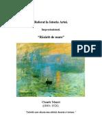 Referat. Claude Monet