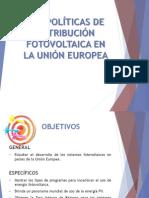Las políticas de retribución fotovoltaica en la Unión