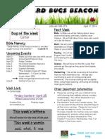 April 17 Newsletter
