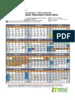 Preliminary roadwork calendar for Champlain, Mercier, Jacques Cartier.