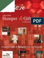 gifts.ie Christmas Hamper Brochure 2007