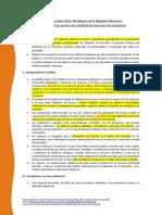 Reforma Educativa 2012 (Puntos Más Importantes)