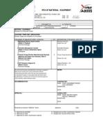 Material Approval Form MMR 13 Nov 2013