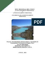 Memoria Descriptiva - Hidrografico Region Cusco
