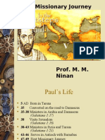 05 Apsotle Paul - First Missionary Journey