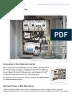 Electrical Engineering Portal.com StarDelta Motor Starter