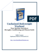 Unchained Bodyweight Workout