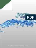 HydroFlow Pump Catalog