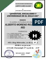 CÍRCULO DE ESTUDIOS ALBERTO F. G.