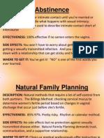 Methods of Birth Control