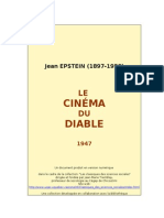 40018569 Jean Epstein Le Cinema Du Diable 1949