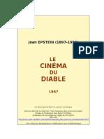 40018569 Jean Epstein Le Cinema Du Diable 1949