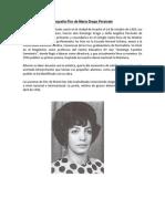 Biografia Flor de María Drago Persivale