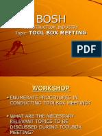 19 Tool Box Meeting