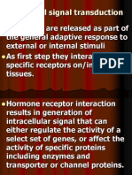 Hormonal Signal Transduction