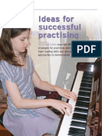 Ideas for Successful Practising for PP