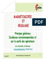 28 Magnetoscopie Et Ressuage - Principes Et Incidences - Cetim